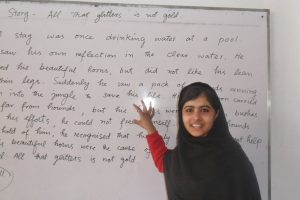 Proud of Malala!