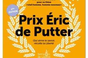 «Prix Eric de Putter» : rendez-vous le 15 septembre 2015, 16h, à l'Université de Strasbourg
